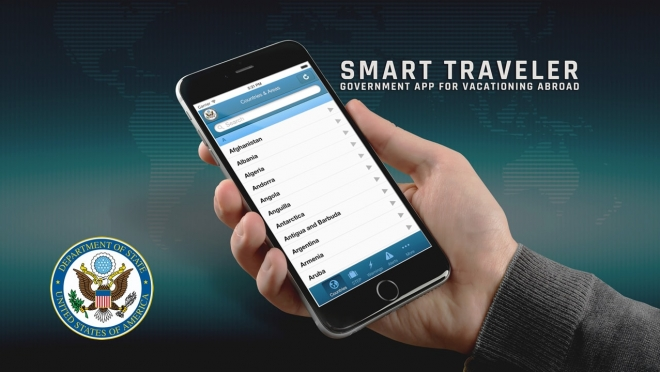 Free U.S. State Department travel app