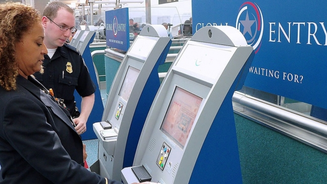 Sign up for the TSA Global Entry program